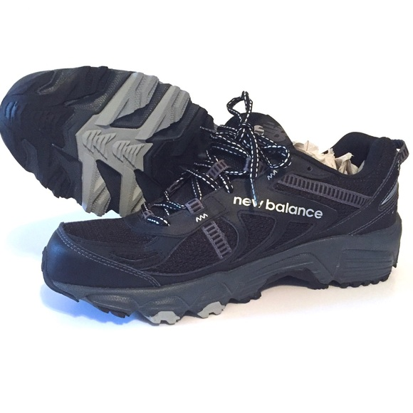 New Balance Other - NWOT New Balance Trail Running Shoes Mt410 Black